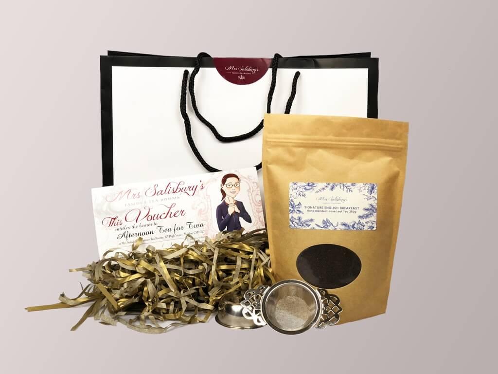 Afternoon Tea For Two Gift Set Mrs Salisbury S Tea Room Restaurant